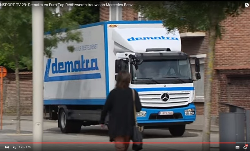 Dematra op Transport TV